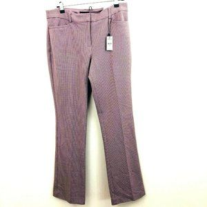 NWT! EXPRESS Houndstooth Columnist Dress Pants 10